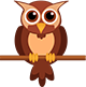 Legal Force small brown owl
